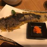 広島お好み焼き・鉄板焼き 倉はし - ナスで餃子