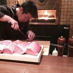 66289667 - 肉・調理中 2016年1月