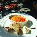 カフェ ムルソー - クレームブリュレとパウンドケーキ