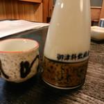 角三 - 熱燗(川亀 超辛口 日本酒度+12