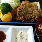 レストランまほろば亭 - 料理写真:ジビエカツ定食