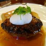 レストラン 栄光 - 飛騨牛100%ハンバーグ