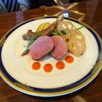 レストラン 栄光 - ラム肉のロースト