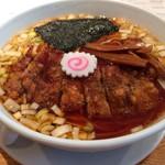 東京担担麺本舗 ゴマ屋 - 排骨(パーコー)らーめん 850円