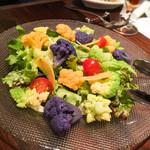 ラ・ボッテガ・デルマーレ - 富山野菜のサラダ