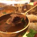 ヒマラヤンキッチン - 山羊カレー