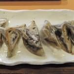 66291621 - イカスミ餃子