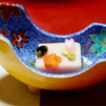 湯之島館 - 筍土佐煮の木の芽味噌田楽