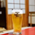 湯之島館 - 生ビール