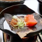 湯之島館 - 鮭(朝食)