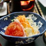 湯之島館 - サラダ(朝食)