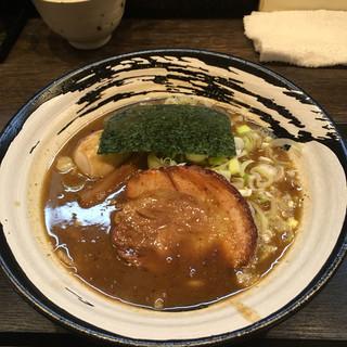 笹はら - 料理写真:濃厚中華そば(小)+味玉