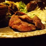 納屋之炭 - 牛肉3種盛 タン