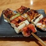 魚 きんめ - 炙り金目串(1本499円)