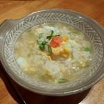 魚 きんめ - 〆の雑炊