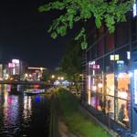 オ・ボルドー・フクオカ - 那珂川を挟んで、歓楽街・中洲の対面にあるオ・ボルドー・フクオカ。 繁華街の天神からも徒歩圏内です。