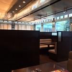 BEER DINING 銀座ライオン - 奥のボックスシート