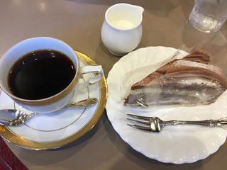 伯爵 巣鴨店 - ケーキセット 700円
