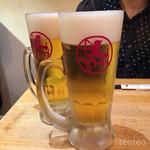 加藤商店 バル肉寿司 since2010 by 炉とマタギ - 生ビール
