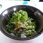 味特 - チャーマヨ丼 250円