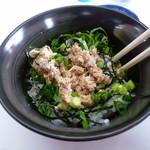 味特 - チャーマヨと紫蘇の葉