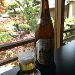 東京 芝 とうふ屋うかい - 瓶ビール うんまっ