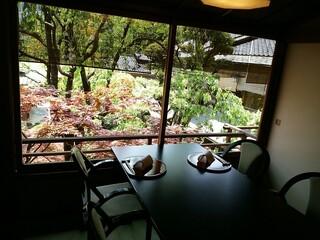 東京 芝 とうふ屋うかい - いい席ですね