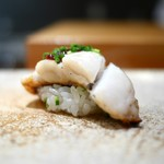 天寿し - 太刀魚炭焼き