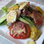 お菓子工房A.taro - 旬の新鮮野菜サラダ