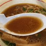中華そば こうた - スープのズーム