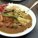 待夢里 - 料理写真:野菜カレー