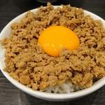 チラナイサクラ - 鶏そぼろ飯 150円