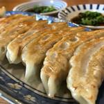中華そば 三浦 - 餃子