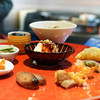 明道町中国菜 一星 - 料理写真:前菜:もずくマーラーソース、鳥レバナッツ、大根餅、ハチノス、牛筋、腸詰、はつかつお、よだれどり