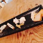 ランドロック - チーズ盛り合わせ