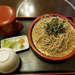 昌楽 - 料理写真:ざるそば