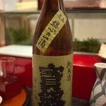 東家 - 宝剣 魂心の一滴 純米酒(中汲)