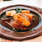 レストラン プロローグ - ハンバーグ200g