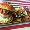 アメリカンダイナーオールドハンガー - 料理写真:メキシカンバーガー