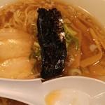 中華そば 高松食堂 - 中華そば(醤油こってり)