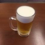 ジャンたこ - 生ビール