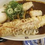 無添くら寿司 - シャリカレーうどん(350円)