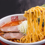 元祖海老そば 縁や - 料理写真:【看板メニュー】海老そば味噌3