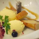 ダイニングキノシタ - バニラアイスクリーム