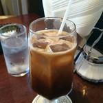 66DINING 六本木六丁目食堂 - アイスコーヒー。