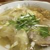 支那そば一麺 - 料理写真:塩ワンタンメン