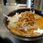 豚骨らーめん福徳 - 「濃厚味噌つけ麺」 つけ汁