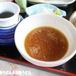 田舎うどん てつ - テッピ―(落花生のつけ汁)