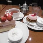 ボックサン - 春らしいケーキ2種