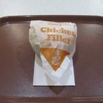 ケンタッキーフライドチキン - 「チキンフィレサンド」です。